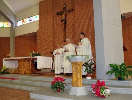 Ecco il nuovo fonte battesimale: l'arte a servizio della liturgia