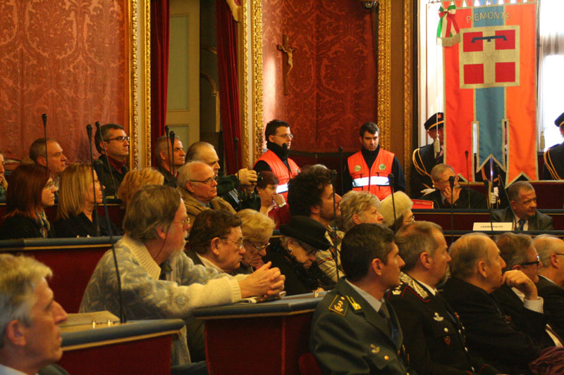 I volontari della croce verde torino ricordano l'intervento al cinema statuto