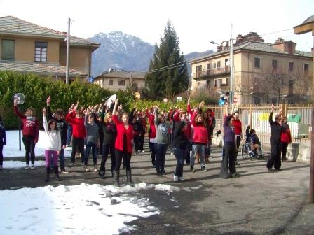 Flash Mob anche all'Alberti di Luserna