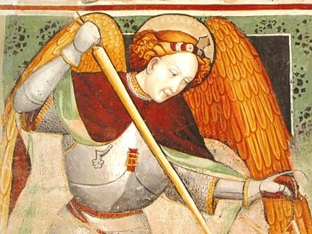 """Villafranca Piemonte, Cappella di Missione """"San Michele"""", Dux Aimo c. 1429"""
