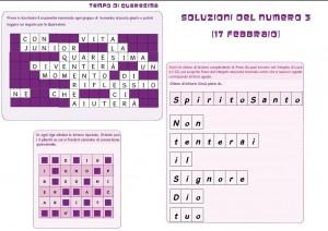 Soluzioni 17 febbraio