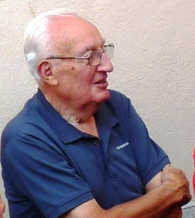 Il prof. Aurelio Bernardi (foto Vita Diocesana)