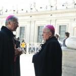 Mons. Renato Boccardo con mons. Pier Giorgio Debernardi