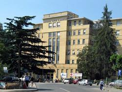 Ospedale di Pinerolo: tranciato un cavo della fibra ottica