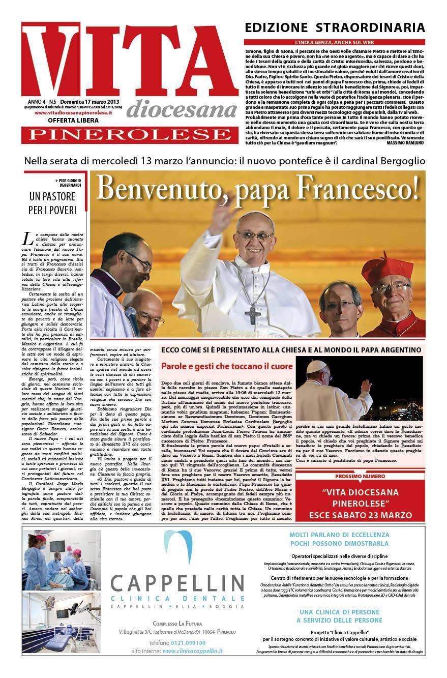 Edizione Straordinaria – 17 marzo 2013