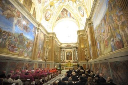 """Messa """"pro eligendo"""": iniziato primo atto conclave"""