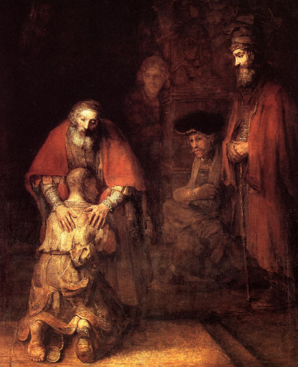 Rrembrandt, Il ritorno del figliol prodigo