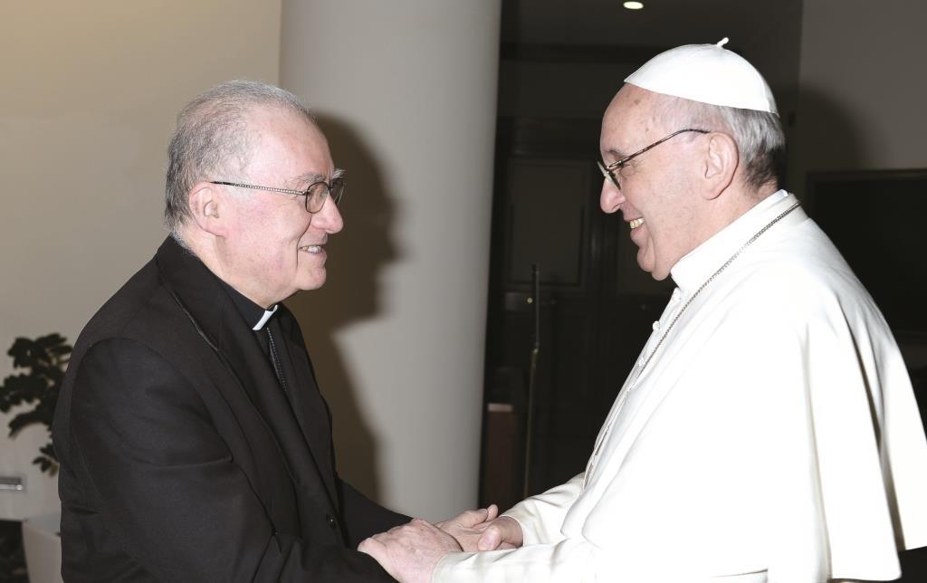 Il Vescovo di Pinerolo, Pier Giorgio Debernardi, a colloqui con Papa Francesco