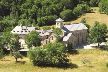 Monaci e laici insieme nell'Abbazia di Boscodon