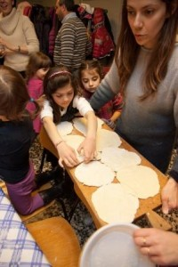 Cena ebraica a misura di bambino