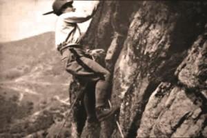Ettore Serafino sulla Sbarua