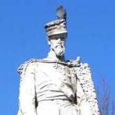 La statua del generale Filippo Brignone