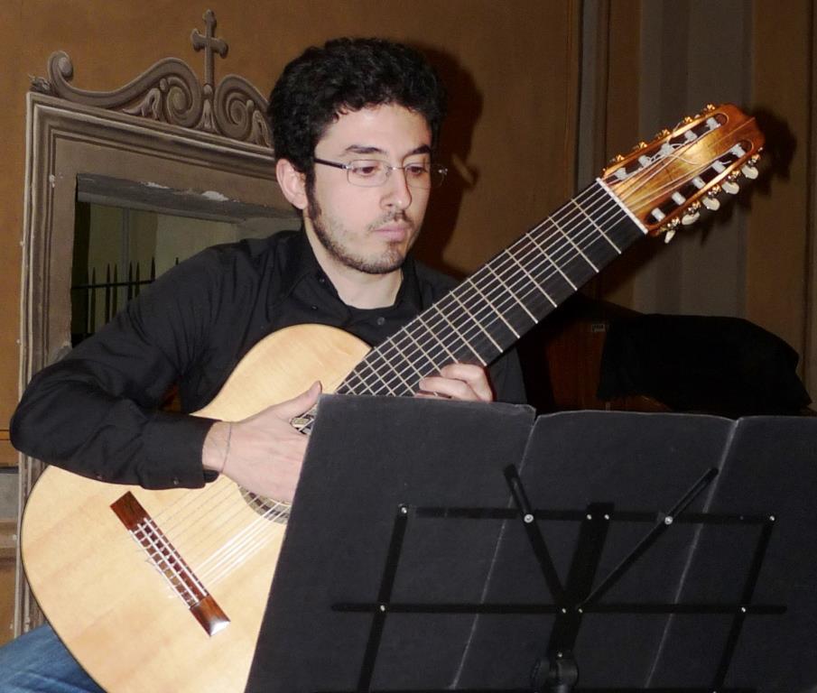 """Silvio D'Amore e Fabio Renda per il secondo appuntamento della """"Rassegna chitarristica pinerolese"""""""