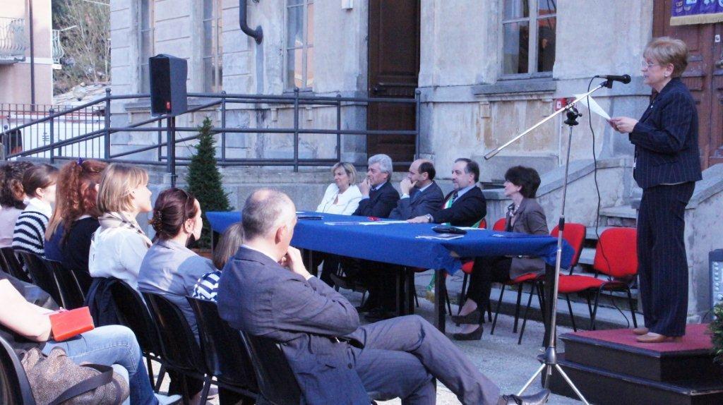Presentati i locali della scuola elementare di Abbadia Alpina