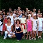 Un gruppo di ragazzi bielorussi ospiti a Pinerolo