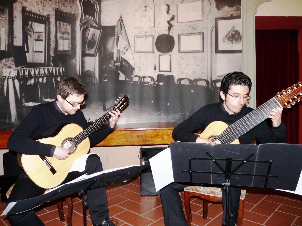 Rassegna chitarristica pinerolese: Silvio D'Amore e Fabio Renda incantano il pubblico