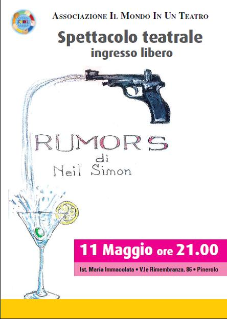 "Pinerolo. ""Rumors"" in scena all'Istituto Maria Immacolata"