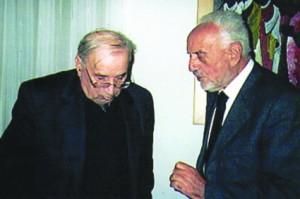 don Vittorio Morero a colloquio con Rodolfo Sacco