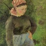 Camille-Pissarro-Peasant-Woman-1880
