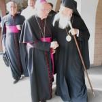 Il vescovo di Pinerolo con il patriarca di Costantinopoli