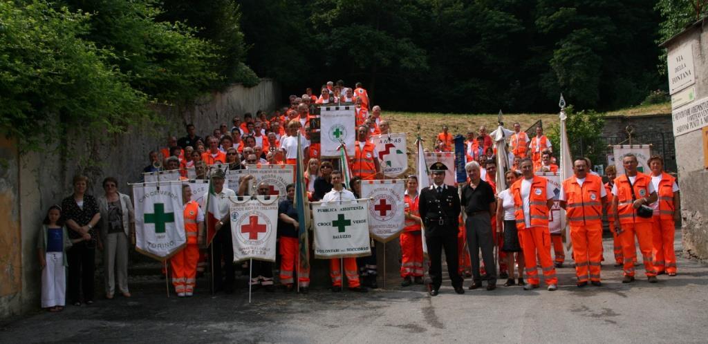 La croce verde di Cavour festeggia i 25 anni di fondazione
