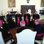 I vescovi del Piemonte con Papa Francesco