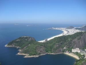 Vista di Copacabana e Isole