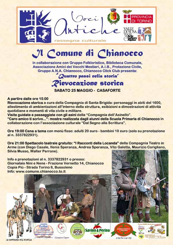 A Chianocco appuntamento con il 1600
