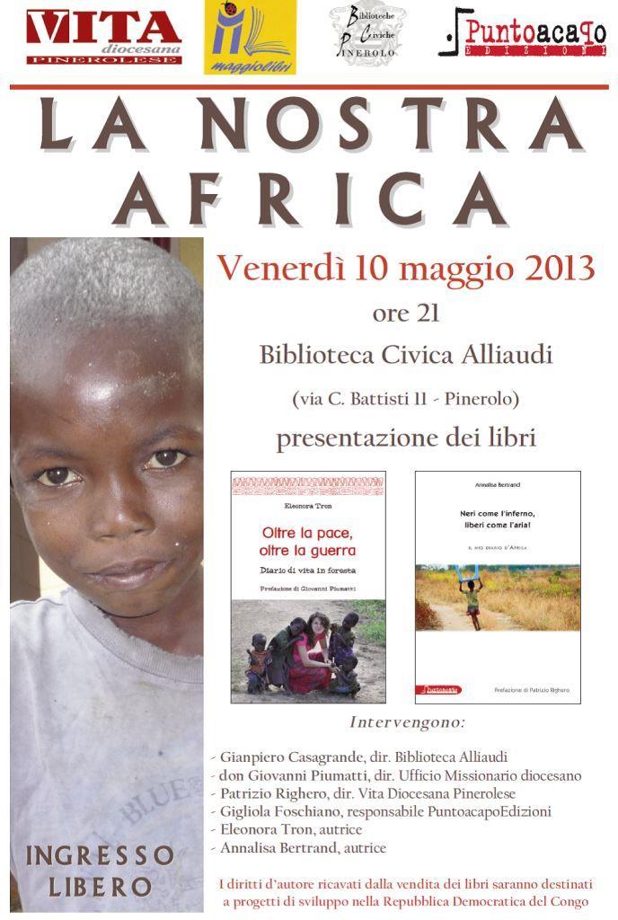 """La """"nostra Africa"""" a Pinerolo"""