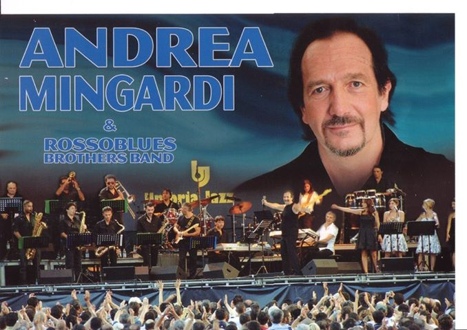 Andrea Mingardi in concerto a Pinerolo sabato 8 giugno
