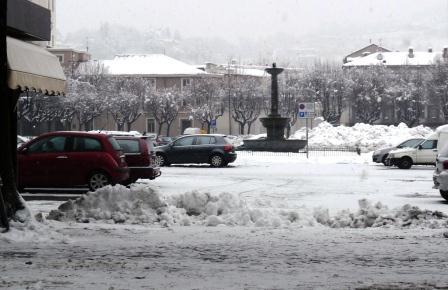 Pinerolo: strade sgombre dalla neve fino al 2015!