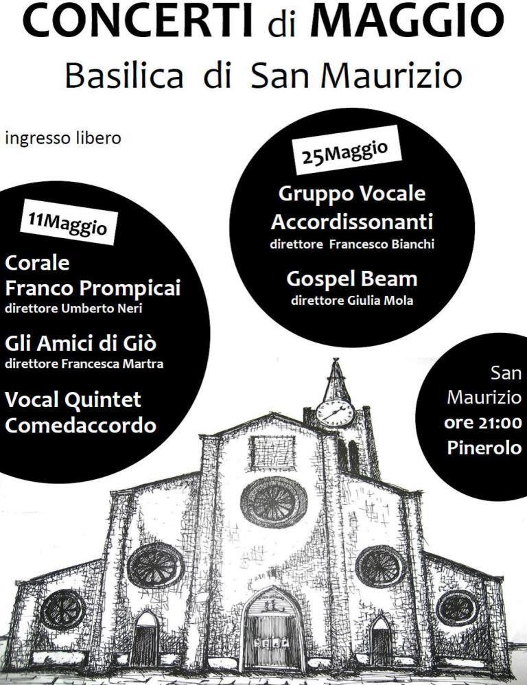 Concerti di Maggio a San Maurizio