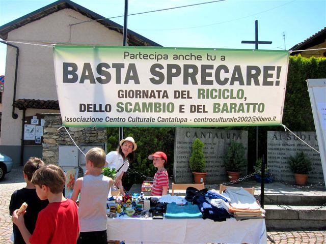 Giornata dello scambio e del baratto a Cantalupa. La photogallery