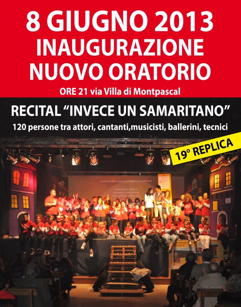 Candiolo inaugura il nuovo oratorio