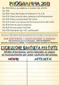NESSUNO ESCLUSO 2013 - VOLTA  -