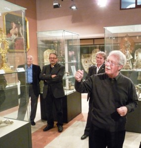 L'interno del Museo diocesano