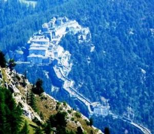 Panoramica del Forte di Fenestrelle
