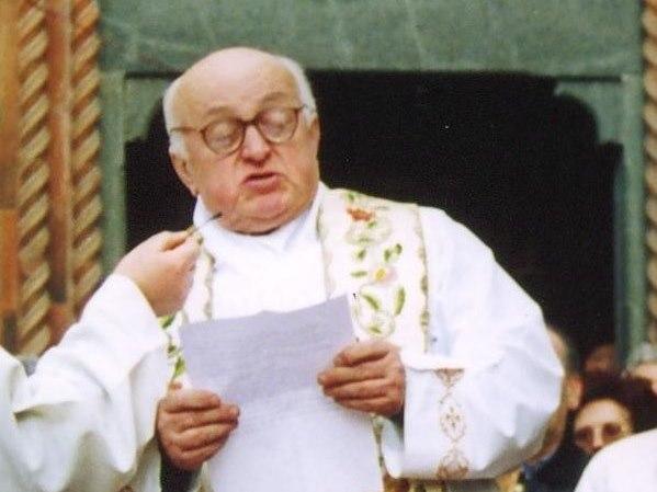 È morto il canonico Giovanni Giraudo