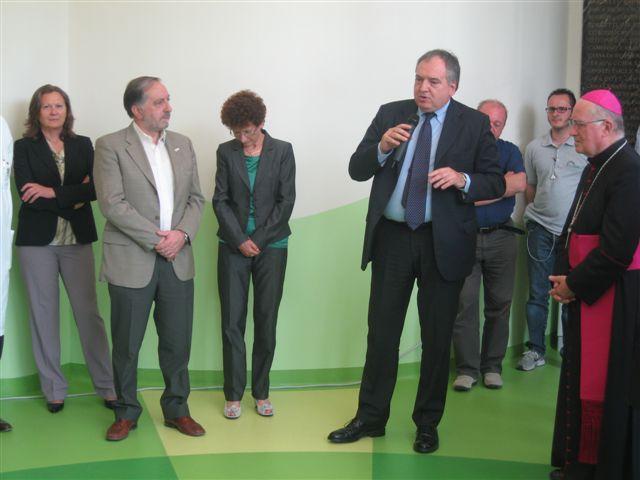 Inaugurato il nuovo ingresso dell'Ospedale Civile di Pinerolo