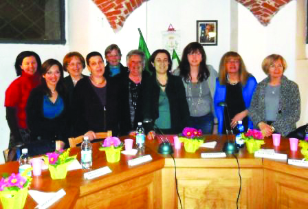L'associazione pinerolese SVOLTA Donna alla Camera dei Deputati per la  Giornata contro la violenza
