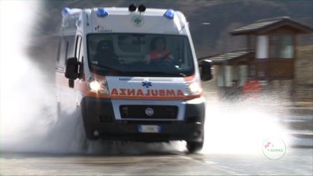 Sabato 20 luglio la parte pratica del corso per autisti dei mezzi di soccorso dell'Anpas