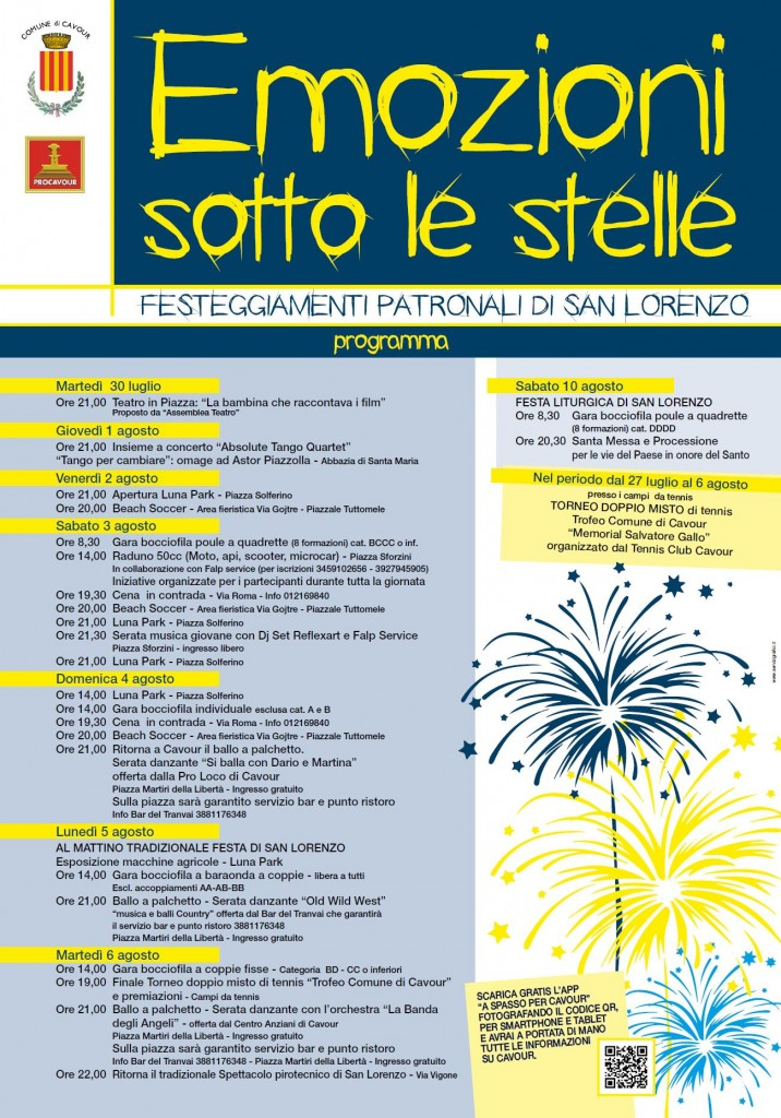 Festa patronale Cavour 2013