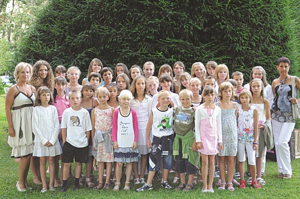 A Pinerolo aria buona per i bambini di Chernobyl