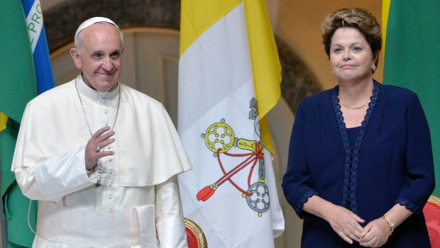 GMG. L'omelia di Papa Francesco a Nostra Signora di Aparecida