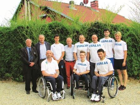 Pinerolo. È terminato l'allenamento collegiale della nazionale di scherma Paralimpica