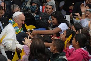 Papa Francesco nella favela: Nessuno può rimanere insensibile alle disuguaglianze che ancora ci sono nel mondo!