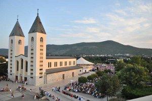 A milano per l'incontro di preghiera di Medjugorje