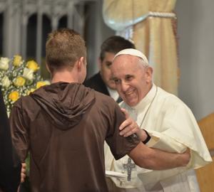 "Papa Francesco a Rio: ""Puoi rialzarti, se vuoi"""
