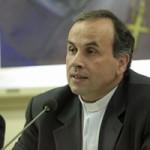 Monsignor Domenico Pompili, direttore dell'Ufficio nazionale per le comunicazioni sociali