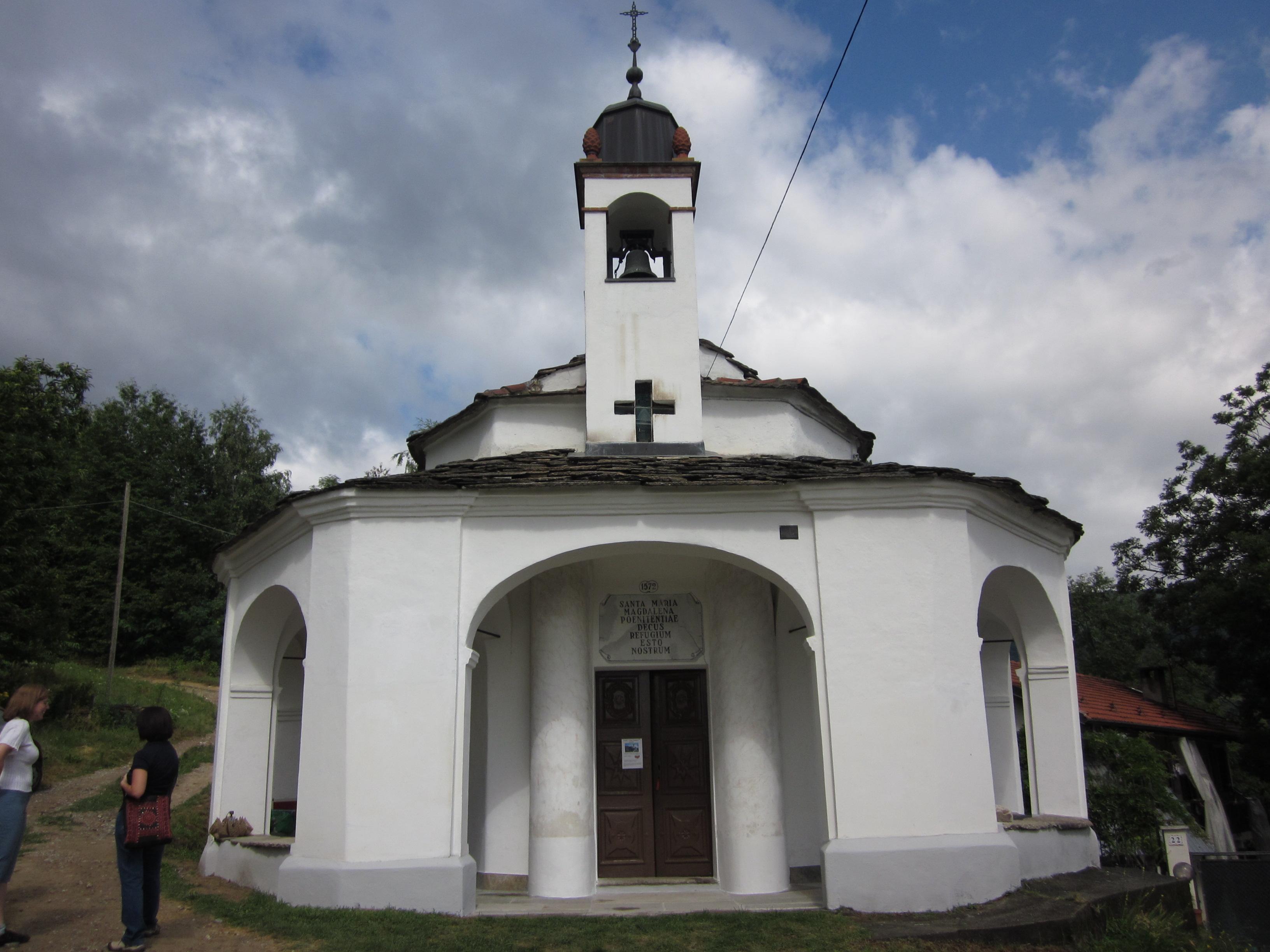 Il sacro monte di Cantalupa